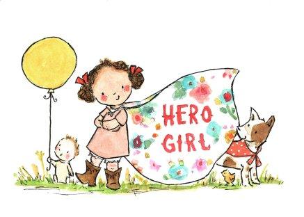 herogirlart