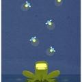 FrogAndFiveFireflies