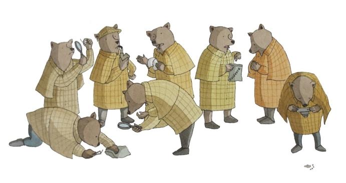 A+sleuth+of+bears