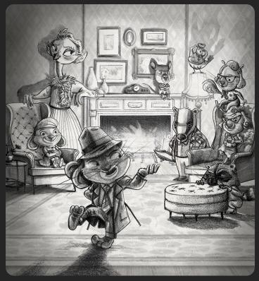 jason kirschner bunny+room+fireplace