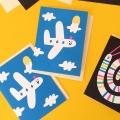 susiehammer_Lagom_mini cards_plane