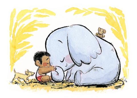 benson shum_Elephant